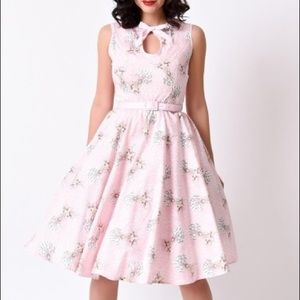 1950's inspired swing dress NWOT